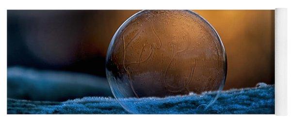 Sunrise Capture In Bubble Yoga Mat
