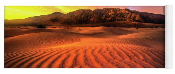 Sunrise-death Valley Yoga Mat