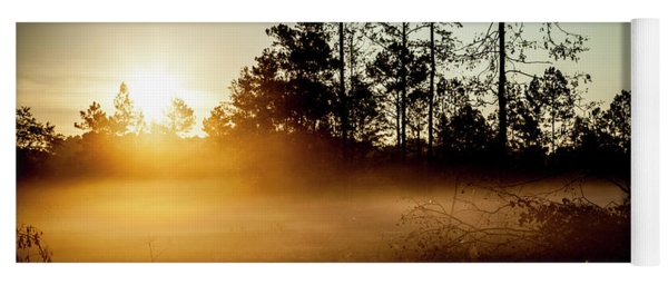 Yoga Mat featuring the photograph Sunrise Effect by Eric Christopher Jackson