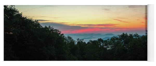 Sunrise From Maggie Valley August 16 2015 Yoga Mat