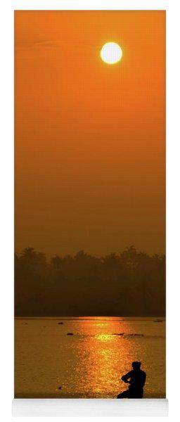 Sunrise In Kerala Yoga Mat