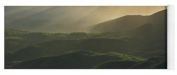 Sunrise In North Georgia Mountains 4 Yoga Mat