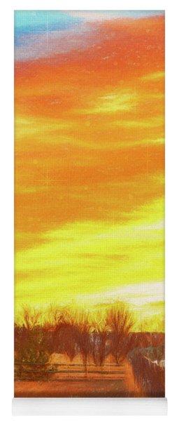 Sunrise Yoga Mat