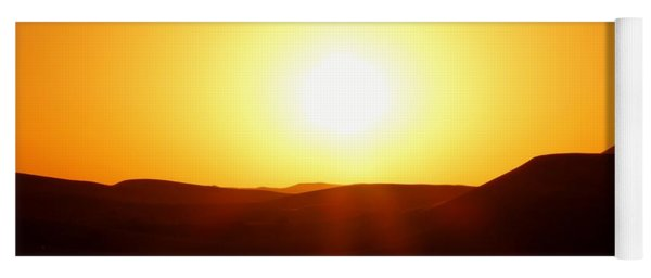 Sunrise Yoga Mat
