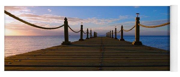 Sunrise Morning Bliss Pier 140a Yoga Mat