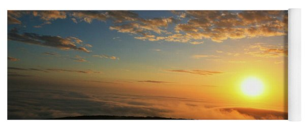 Sunrise On Cadillac Mountain Yoga Mat