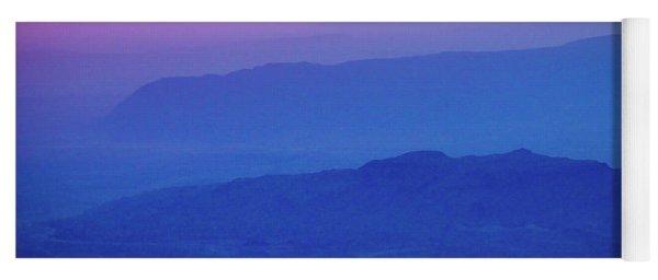 Sunrise Over Big Bend Yoga Mat