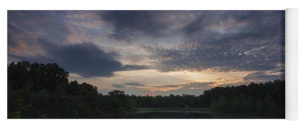 Sunrise Over Indigo Lake Yoga Mat