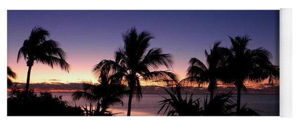 Sunrise Over Key West Yoga Mat