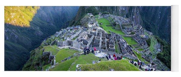 Sunrise Over Machu Picchu, Peru Yoga Mat
