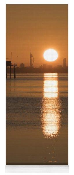 Sunrise Over Portsmouth Yoga Mat