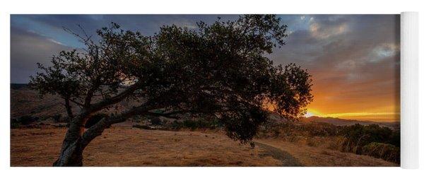 Sunrise Over San Luis Obispo Yoga Mat