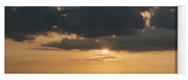 Sunrise Over The Isle Of Wight Yoga Mat