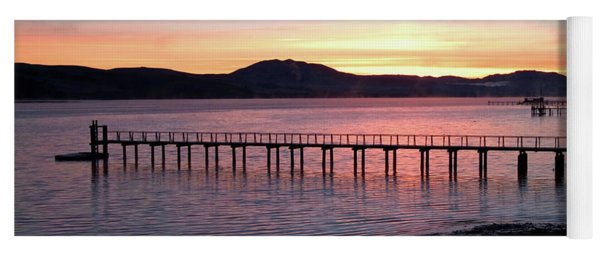 Sunrise Over Tomales Bay Yoga Mat