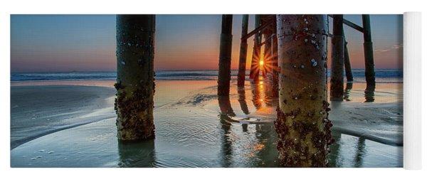 Sunrise Pier Yoga Mat