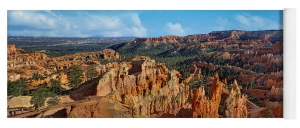 Sunrise Point - Panorama - Bryce - Utah Yoga Mat