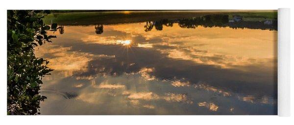 Sunrise Reflections Yoga Mat