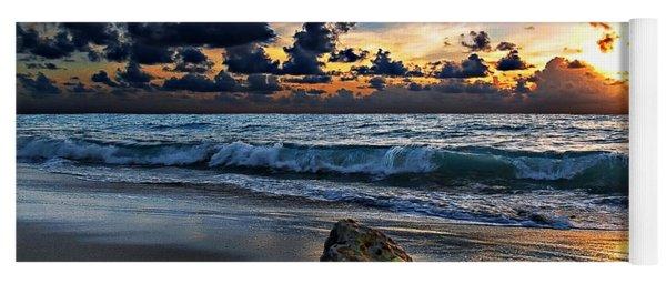 Sunrise Seascape Wisdom Beach Florida C3 Yoga Mat