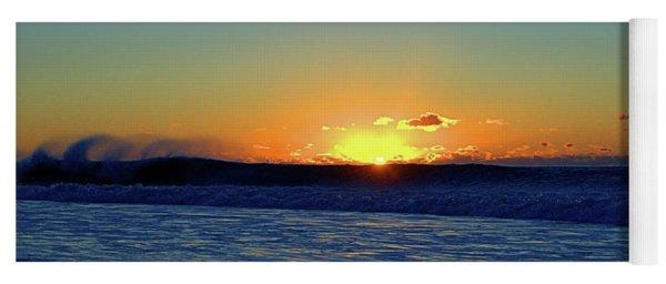 Sunrise Wave I I I Yoga Mat