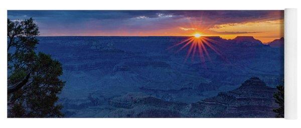Sunrise - Yavapai Point - Grand Canyon Arizona Yoga Mat