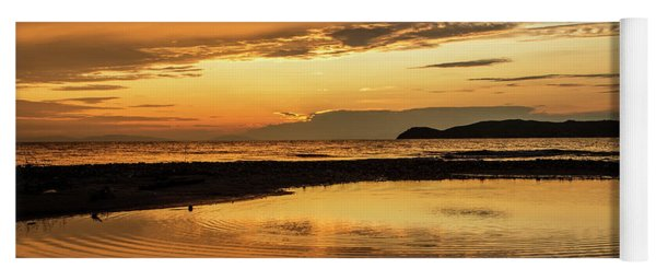 Sunset And Reflection Yoga Mat