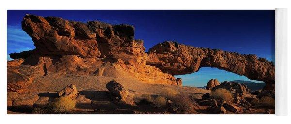 Sunset Arch Pano Yoga Mat