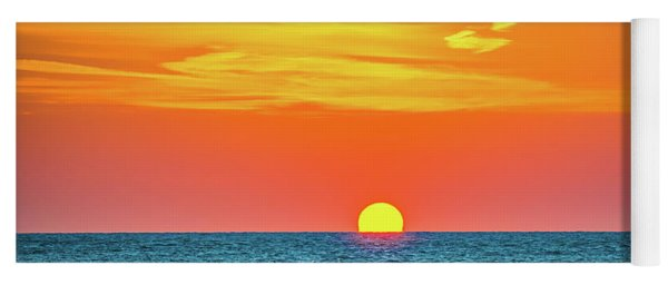Sunset At Captiva Yoga Mat