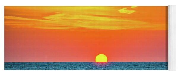 Sunset At Captiva Yoga Mat
