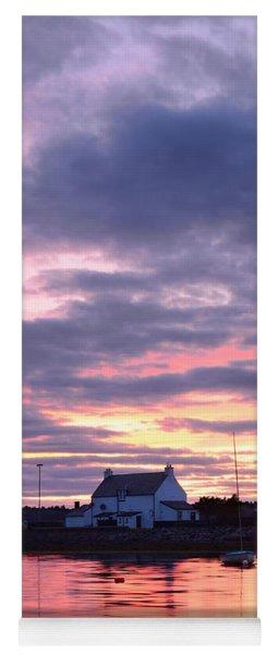 Sunset At Clachnaharry Yoga Mat