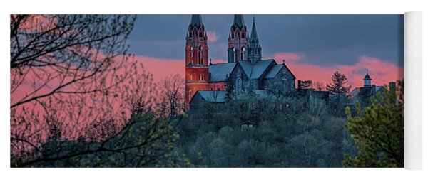 Sunset At Holy Hill Yoga Mat