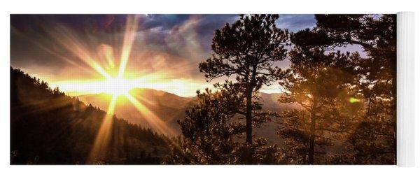 Sunset At Lookout Mountain Yoga Mat