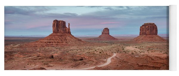 Sunset At Monument Valley No.1 Yoga Mat