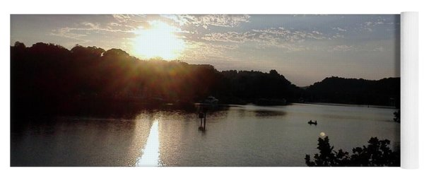 Sunset At Occoquan Yoga Mat