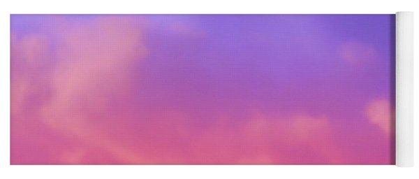 Sunset Clouds Yoga Mat