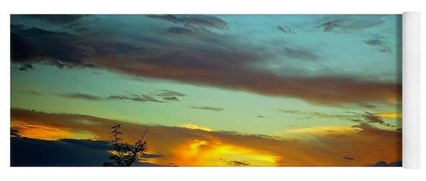 Sunset Drama Yoga Mat