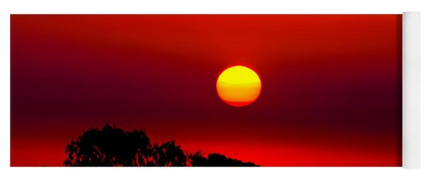 Sunset Dreaming Yoga Mat