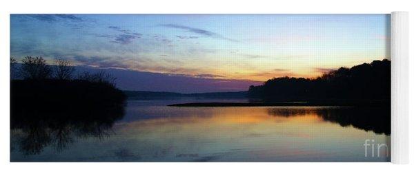 Sunset Florida Seascape Inlet 139a Yoga Mat