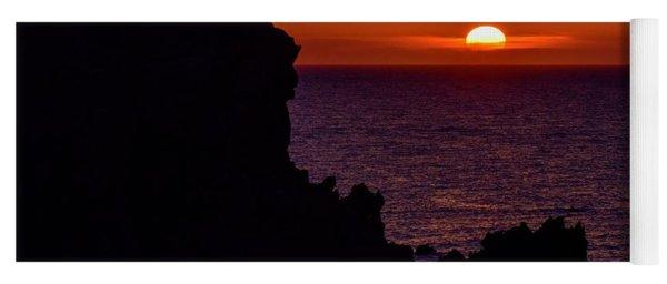 Sunset From Costa Paradiso Yoga Mat