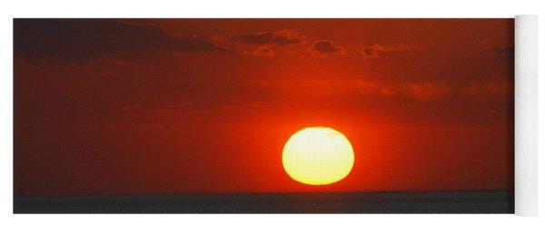 Sunset From The Montauket Hotel Yoga Mat