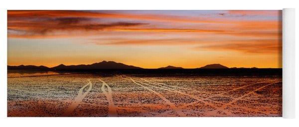 Sunset Highways 2 Yoga Mat