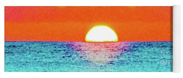 Sunset In Abstract 500 Yoga Mat