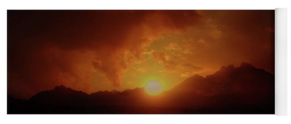 Sunset In Africa 4 Yoga Mat