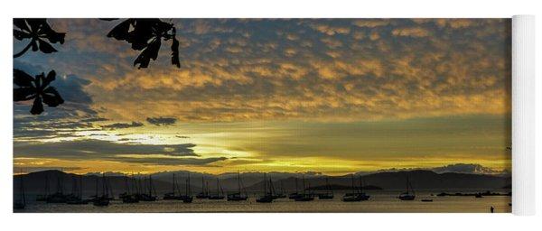 Sunset In Florianopolis Yoga Mat