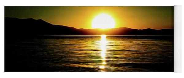 Sunset Lake 2 Yoga Mat
