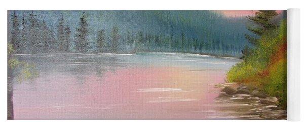 Sunset Lake Yoga Mat