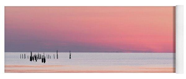 Sunset Landscape Yoga Mat