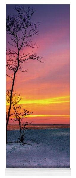 Sunset Light Yoga Mat
