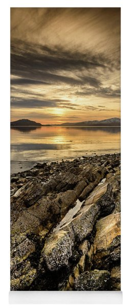Sunset, Loch Lochy Yoga Mat