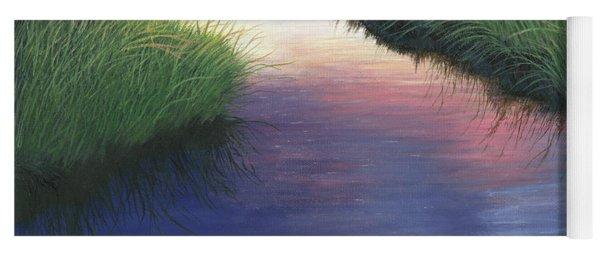 Sunset Marsh Series Yoga Mat