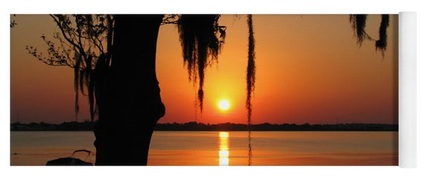 Sunset On Lake Minneola Yoga Mat